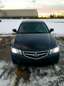 Acura TSX Manual 6spd *Active Status*