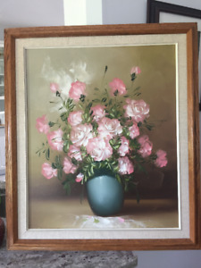 Roses in Vase Picture