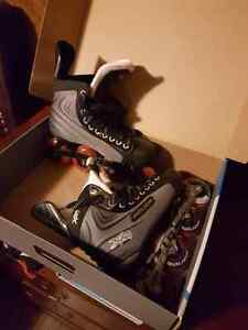 Rollerblades and helmet for sale !!