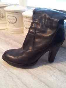 New Price!!  Black Leather Dress Boots Cambridge Kitchener Area image 2