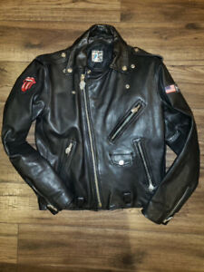 Authentic Rolling Stones Leather Ladie's   motorcycle jacket
