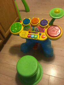 Vtech elephant drums