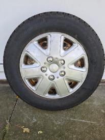 Vauxhall vivaro tyre 205/65/16 van spare wheel 2008