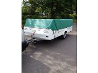 FOLDING CAMPER (not trailer tent) CONWAY COUNTRYMAN