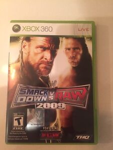 WWE Smackdown vs Raw 2009 on Xbox 360