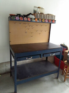 Work Bench for Sale or swap for 5 level plastic shelf unit.