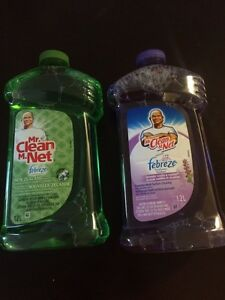 Selling Mr. Clean with Fabreeze