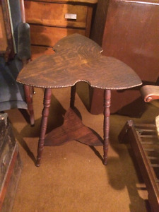 Various Antique Side Tables/plant stands