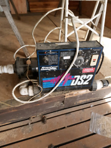 Hot tub pump and control pannel