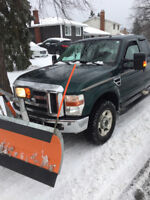 Snow Removal Contracts/Per push