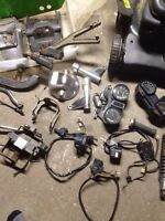 Early 80's cb750 parts lot