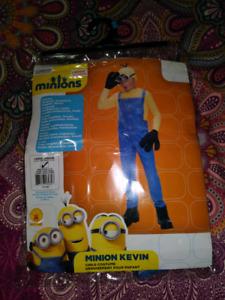 Minion costume boys large 8-10