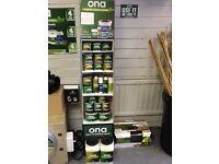 Hydroponic equipment ONA Odor Neutralizing agent. Blocks, mist, spray,gell