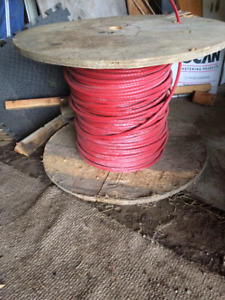 Cable (Wire Rope) 3/8'' Diameter