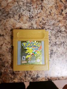 Gameboy pokemon gold