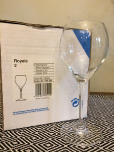 """Royale"" Schott Zwiesel wine glasses ONLY $25"