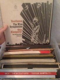 15 box sets + 30+ lps classical