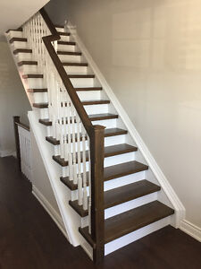 Stair tread caps - professionally stained - never installed