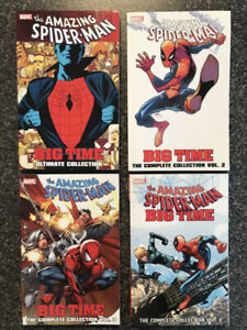 SPIDER-MAN BIG TIME ULTIMATE COMPLETE COLLECTION VOL 1 2 3 4
