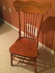 Antique chairs and rocker for sale