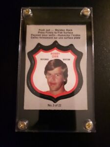 1972 OPC BOBBY ORR PLAYER CREST