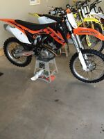 LIKE NEW 2014 ktm 350 with 15 hours