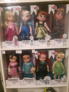 "Disney Animator 16"" dolls. New in Box"