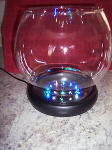 Almost like new!  LED Fish Bowl.