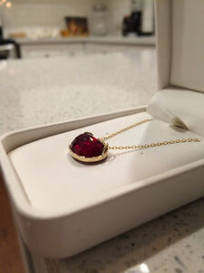 Ruby Pendant **Appraised for $2400**