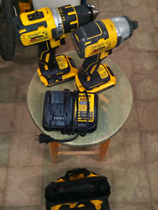 DeWalt 20V Brushless Impact Driver and Drill