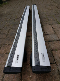 Thule Wing Bars with Rapid System Brackets