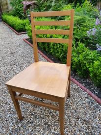 4 habitat kitchen chairs