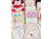 Baby Girl's Clothes (0-3 to 6-9 months)