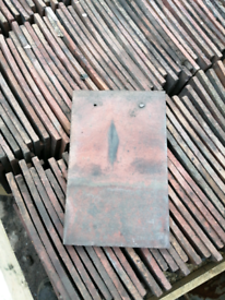 Sunset clay roof tiles