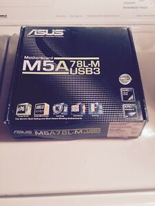 ASUS M5A 78L-M Motherboard (Never Used)