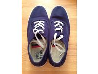 Navy Trainers for Women
