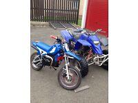 Quad and bike SWAP