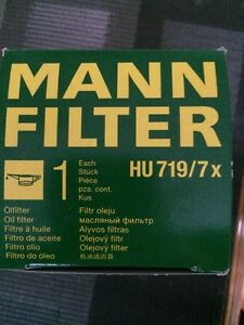 Mann oil filter HU 7197x for VW TDI