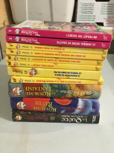 LOT DE 12 GERONIMO TEA STILTON ROMAN LIVRES ENFANTS