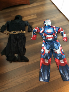 costume de batman et iron man