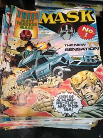 Mask comics
