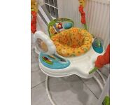 Fisher-Price Rainforest Sunny Days Jumperoo -- Like New