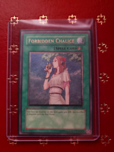 Yugioh Card- Forbidden Chalice Ultimate Rare