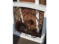 Roman numeral clock (minute hand missing) brand new, delivered and non refundable