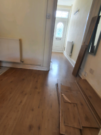 Job lot laminate click flooring for sale
