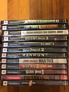 Lot of 12 PS2 Games