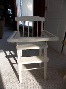 Vintage Doll Crade and High Chair - Great Xmas Idea! Kitchener / Waterloo Kitchener Area image 3