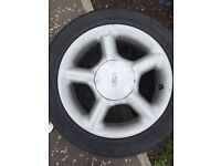 GTI ford escort alloys and tyres
