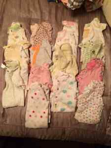 Like New! 47 Pieces of (3-6 month old)Baby Girl Clothes