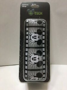 DISNEY CAMERA STRAP MICKEY MOUSE FILM STRIP WIDE-NEW!!